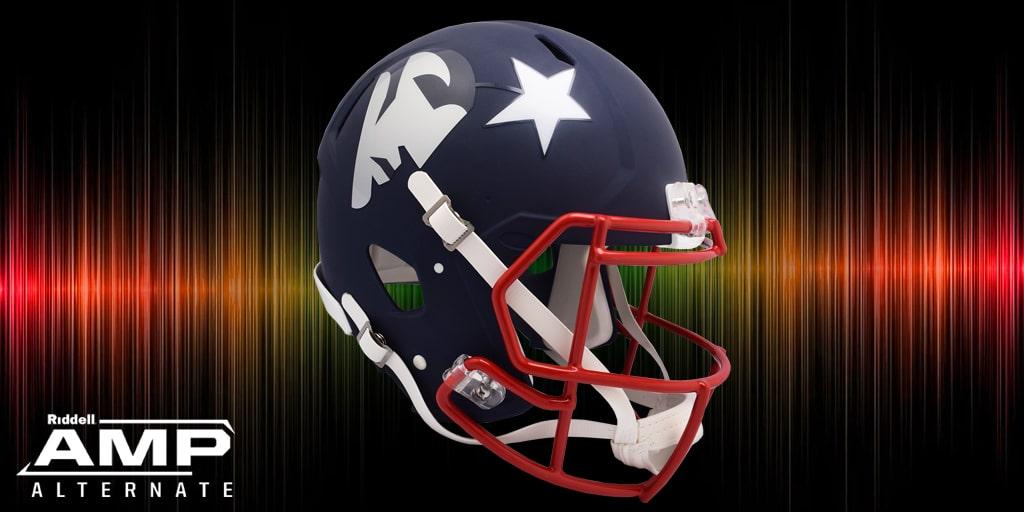 casco de los patriots NFL Riddell