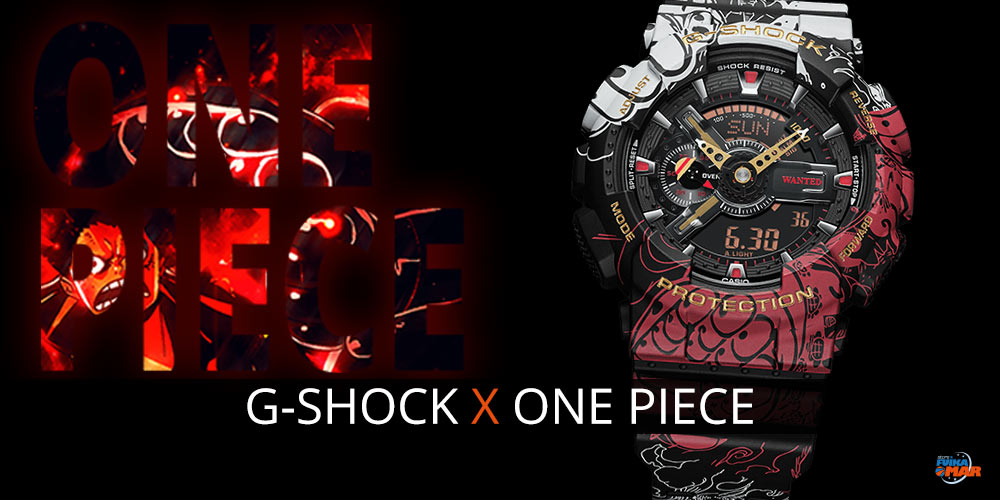 G-Shock One Piece en Fuikaomar