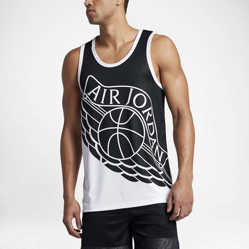 camiseta de asas air jordan wings bloc