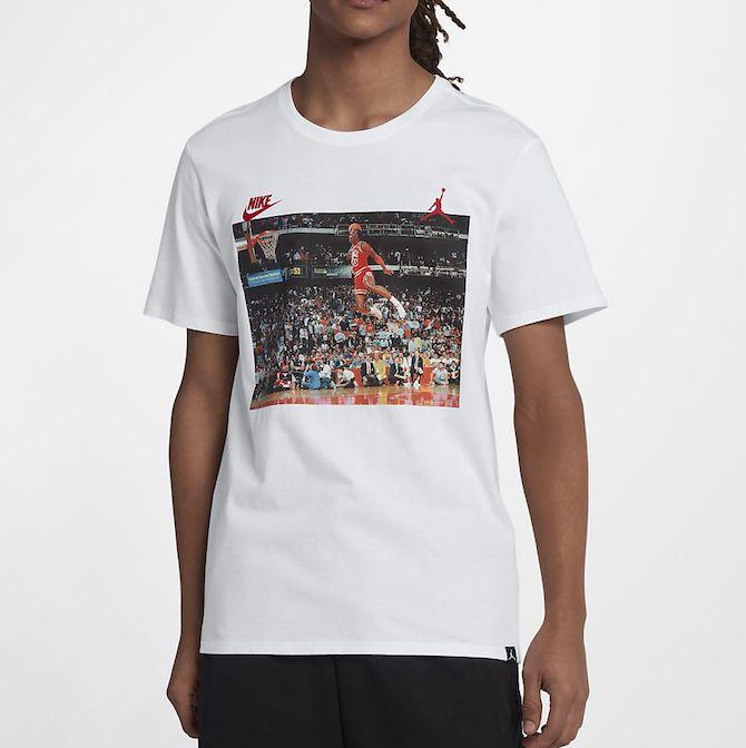 camiseta nike air jordan dunk tee