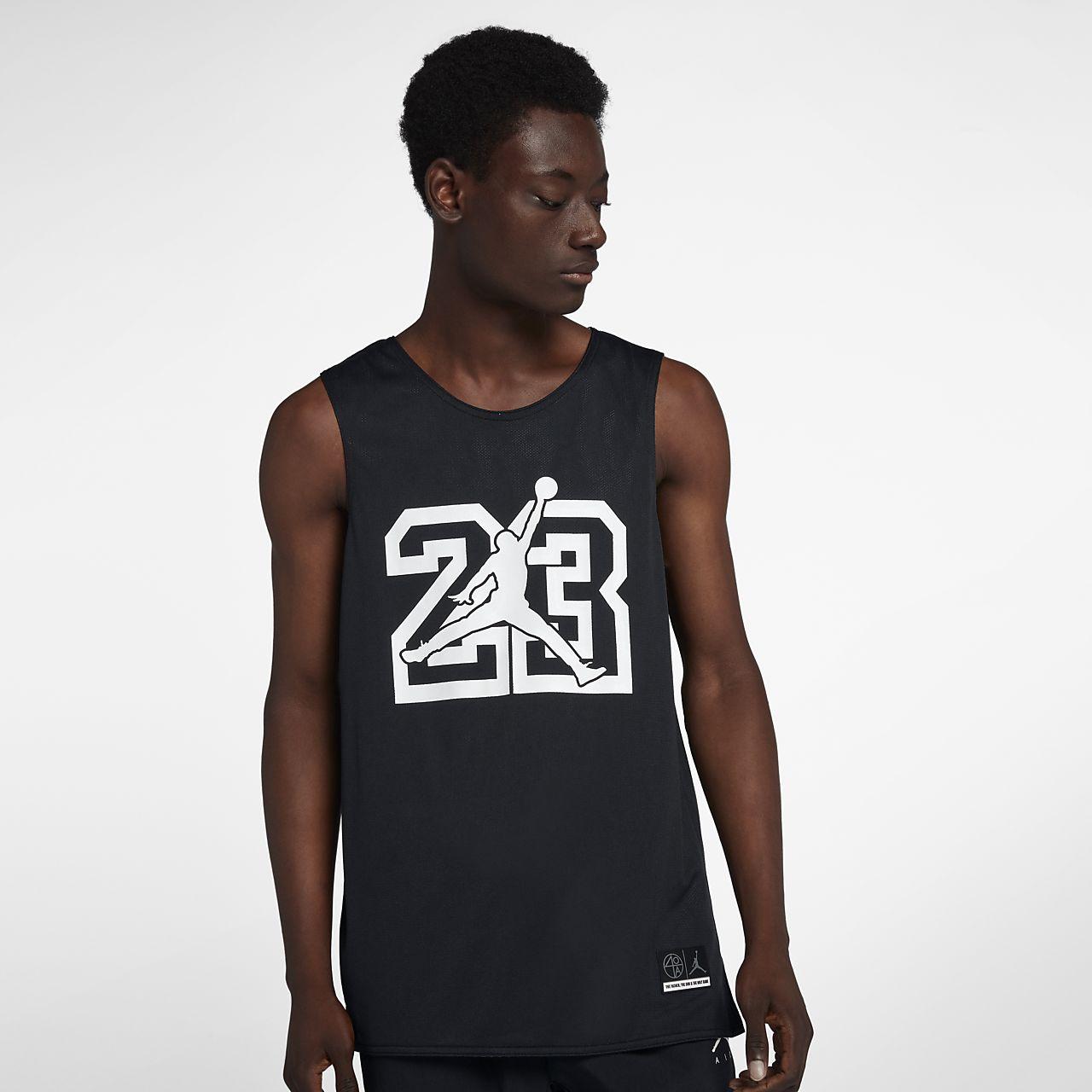 camiseta reversible jordan