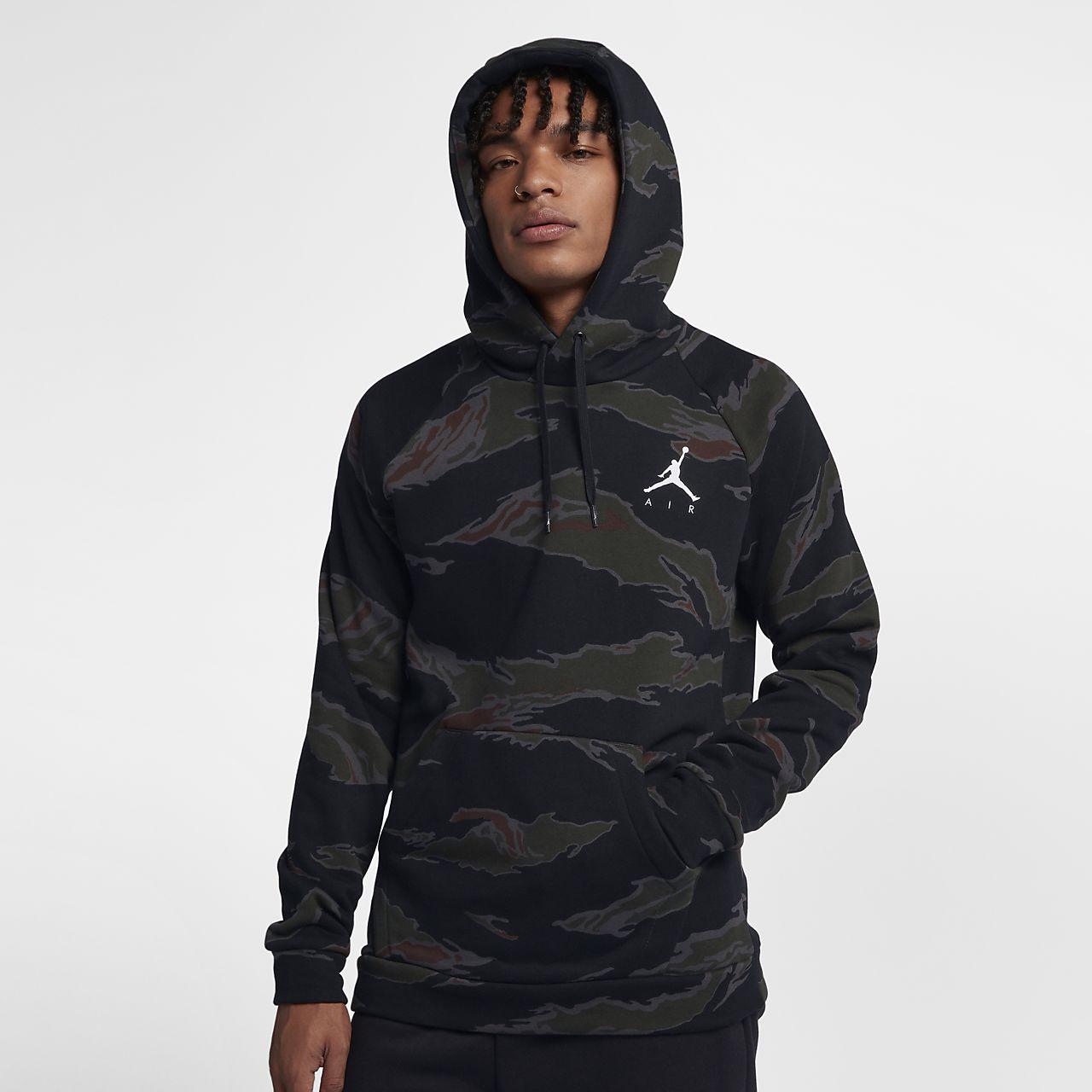 Sudadera Jordan Air Camo Nike Fleece Jumpman nXw08OkP