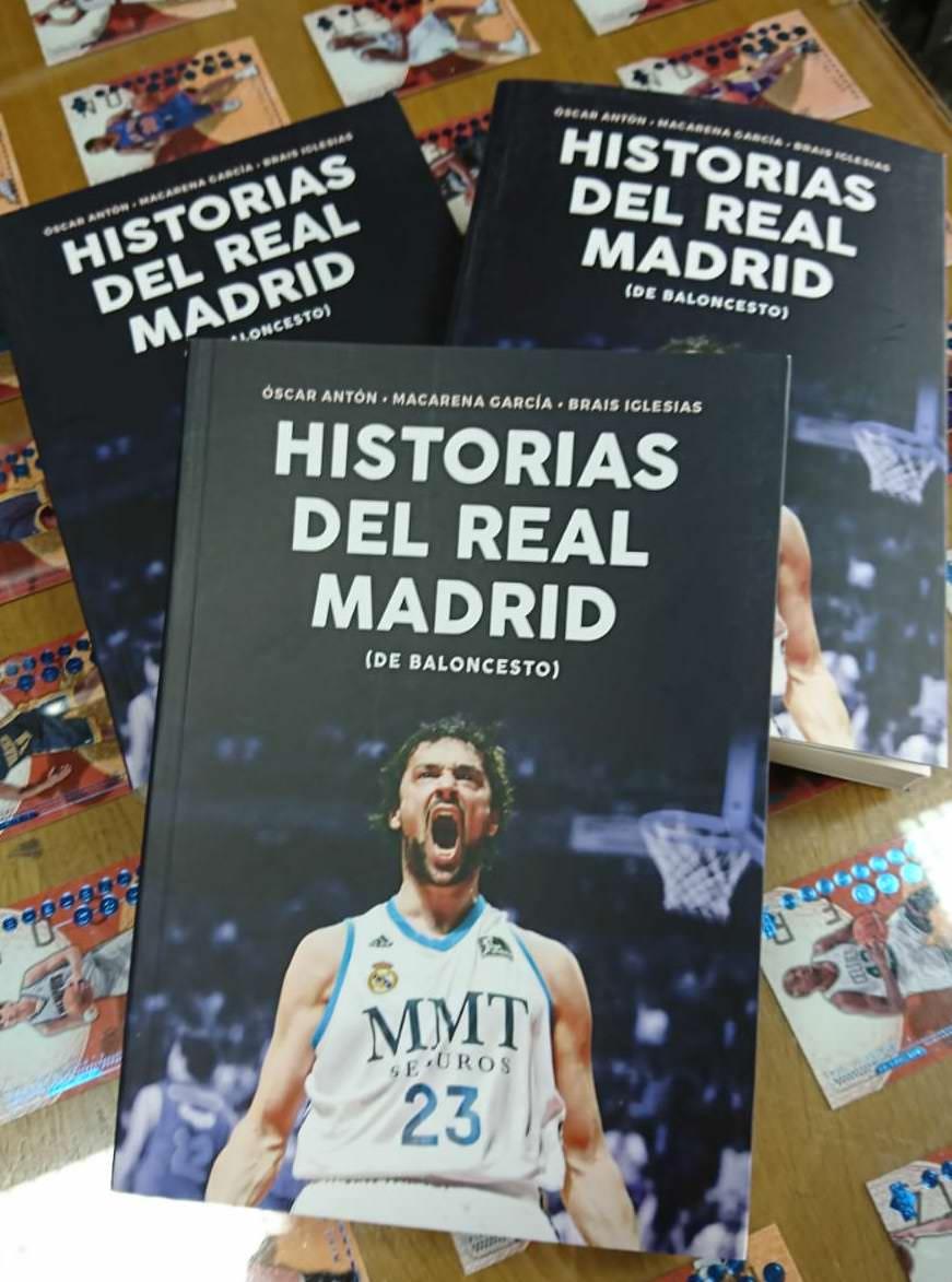 libro historias Real Madrid FUIKAOMAR