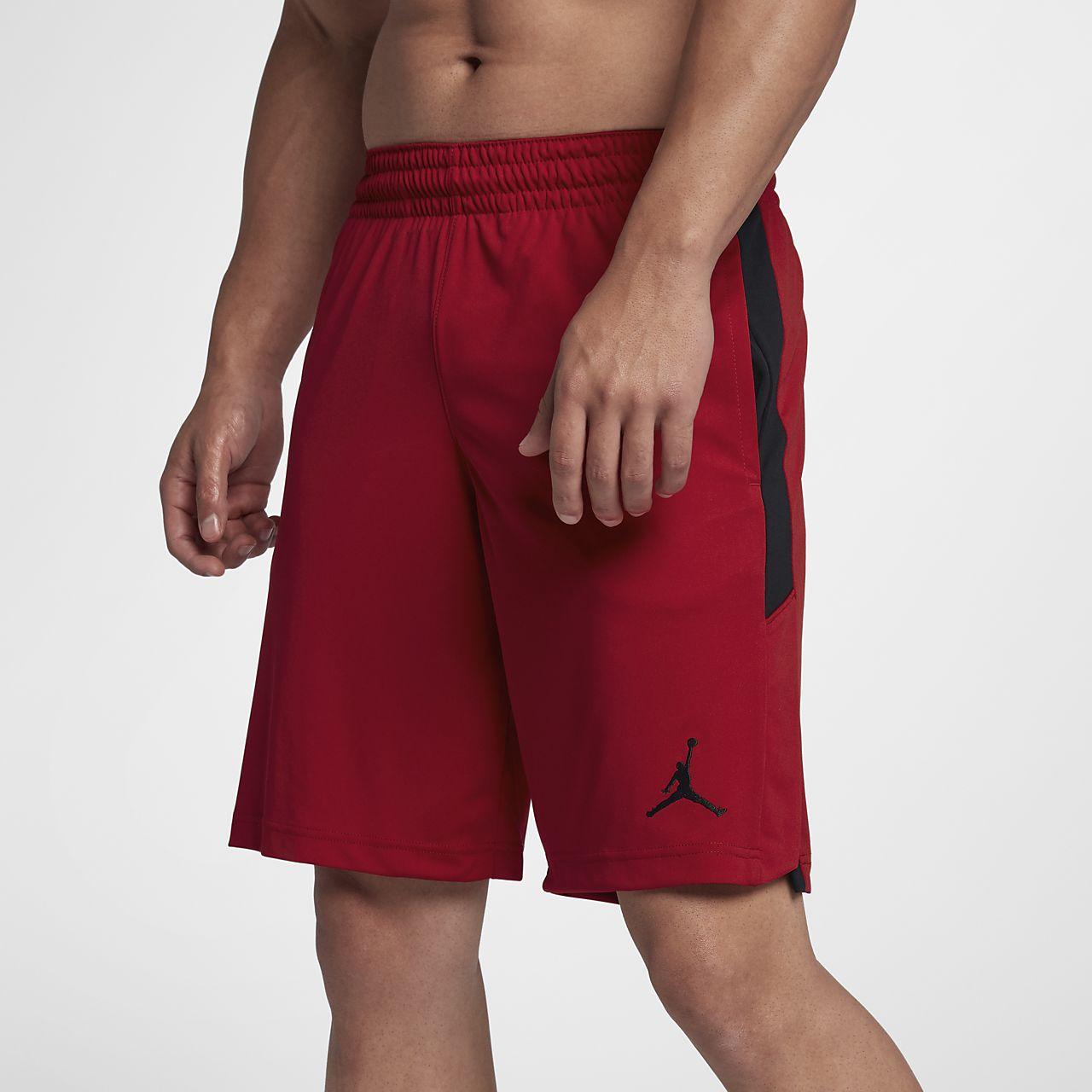 short baloncesto jordan en rojo