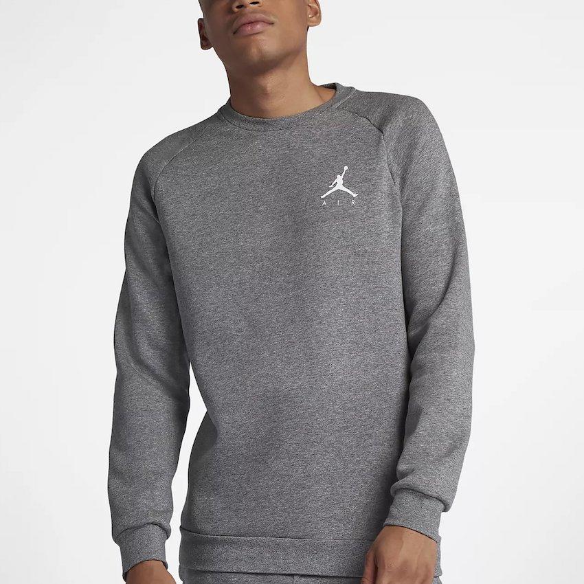 sudadera Air Jordan en gris