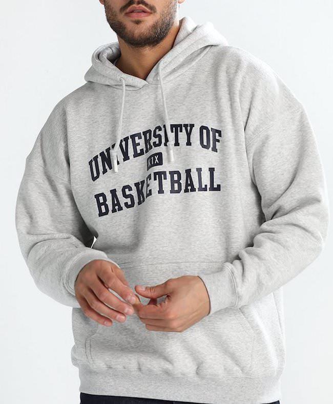 sudadera k1x University of basketball
