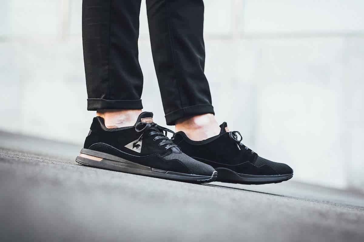 Sneakers Le Coq Sportif R Pure en negro