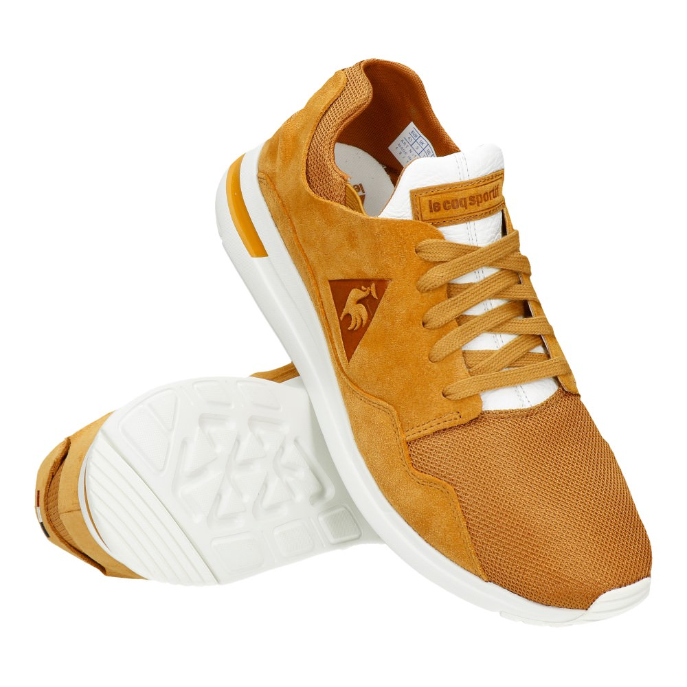 zapatillas le coq sportif marron