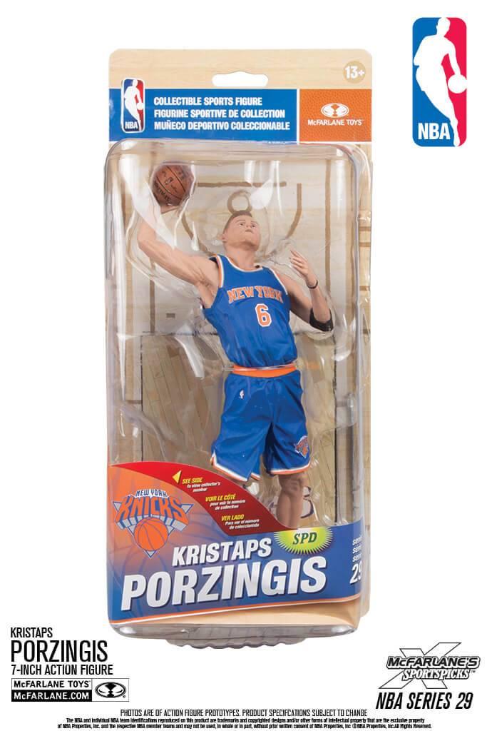 Figura de Porzingis con los Knicks