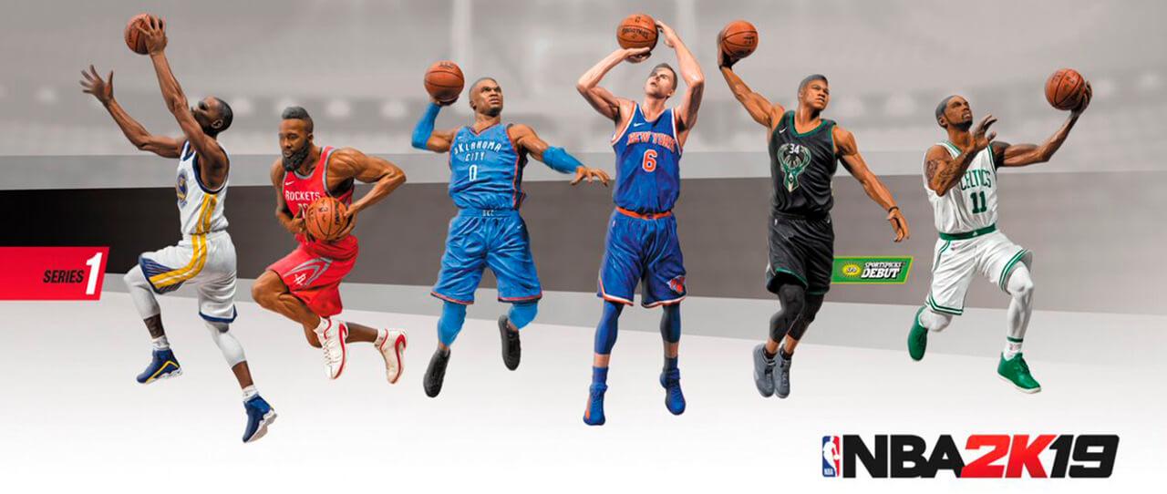 Figuras Mcfarlane NBA 2k19
