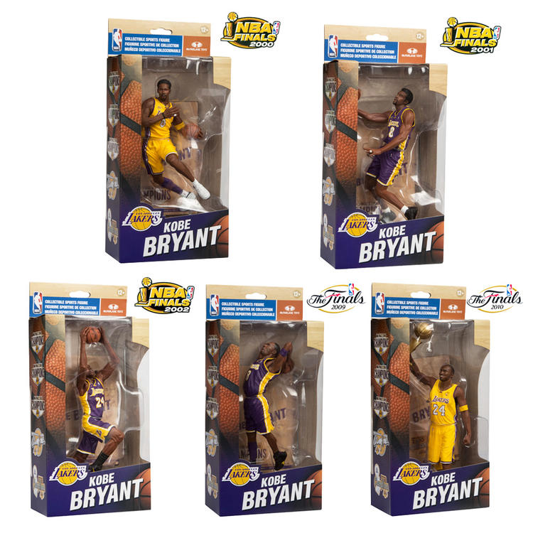 Pack de figuras de Kobe Bryant