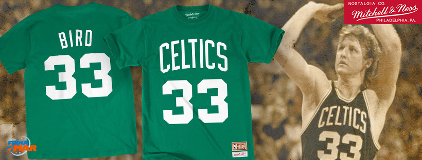 camiseta Larry Bird Mitchell ness Celtics