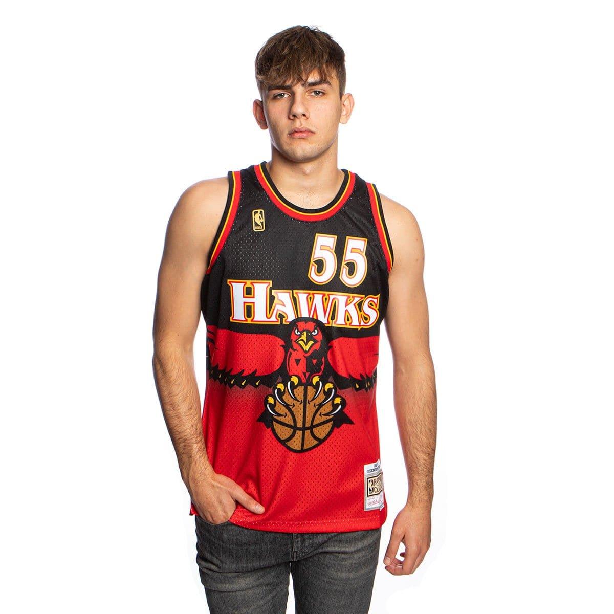 camiseta swingman de Mutombo con Atlanta Hawks