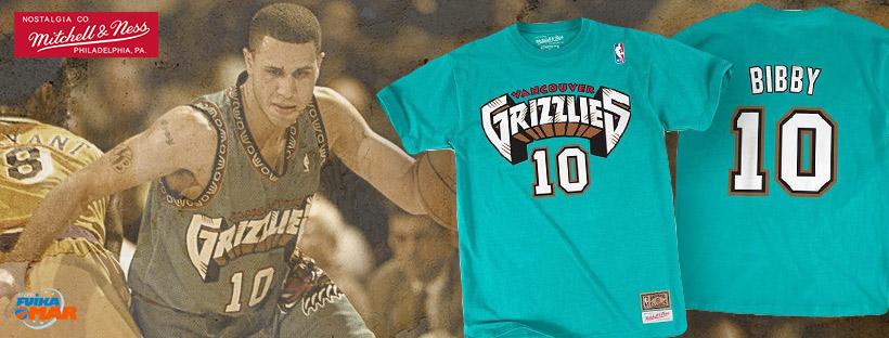 camiseta Mitchell ness grizzlies Bibby
