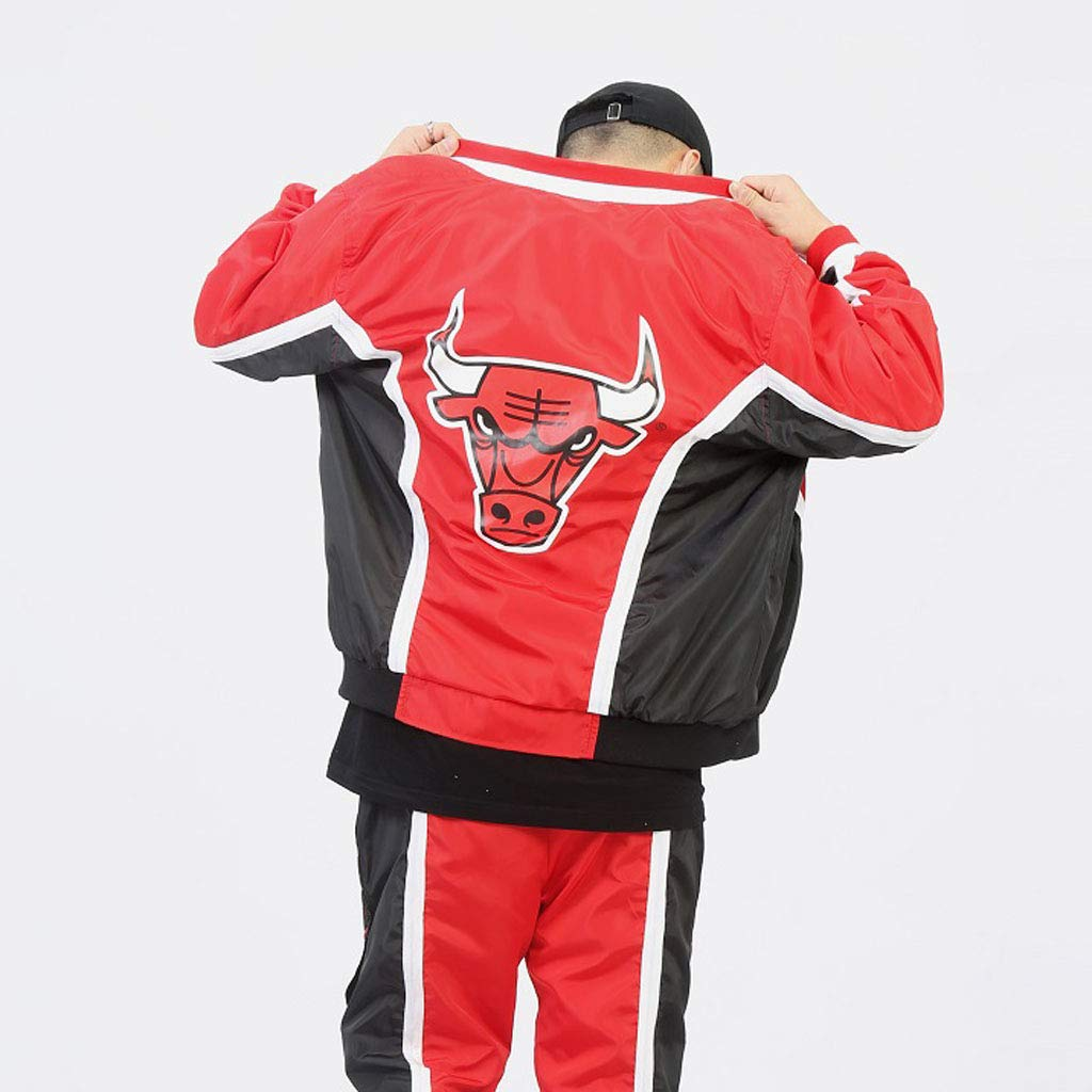 chaqueta Chicago bulls warm up Mitchell ness