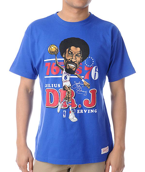 camiseta DR J con los Sixers