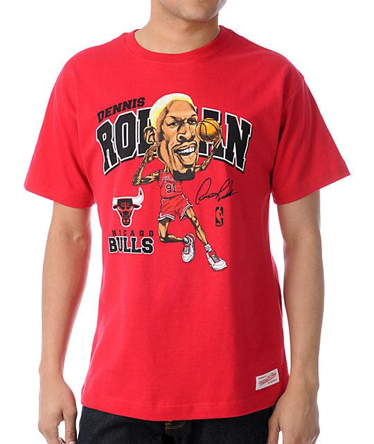 camiseta rodean con los bulls