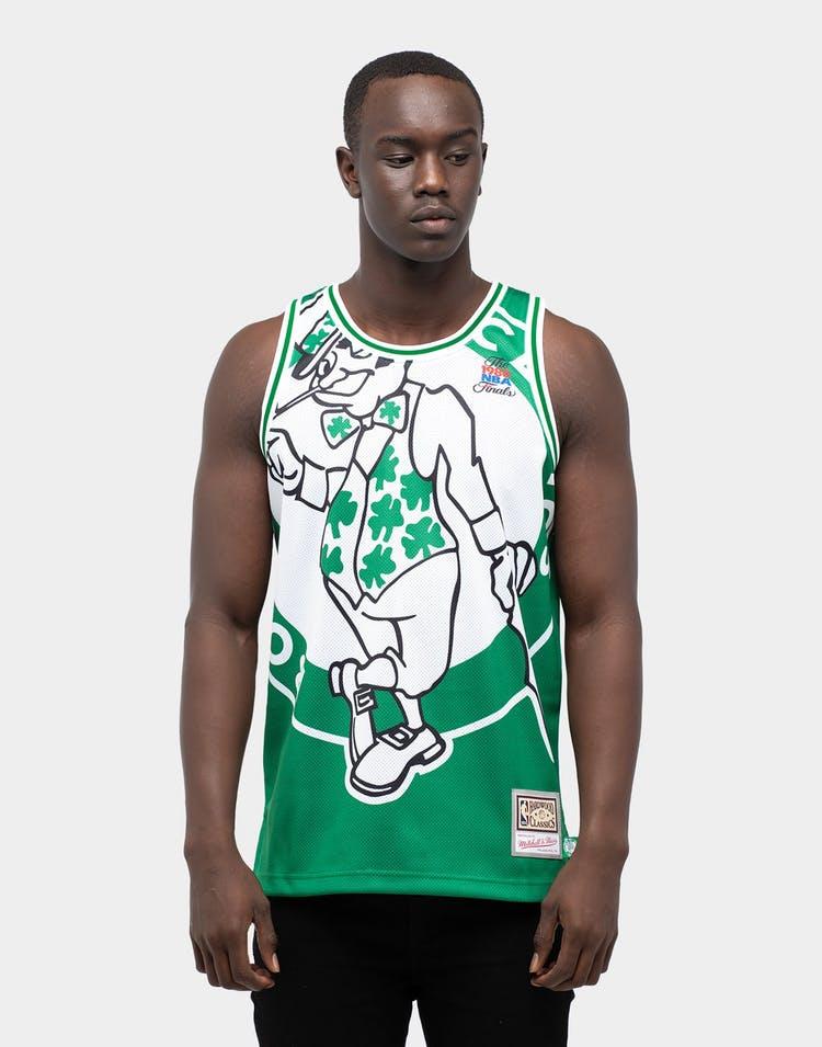 camiseta baloncesto boston celtics big face