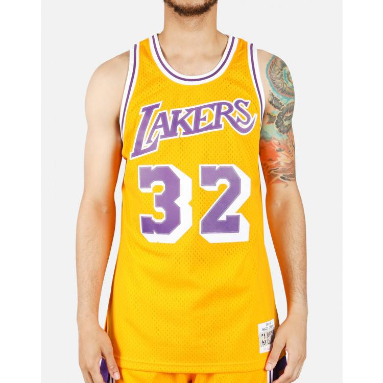 camiseta magic johnson lakers