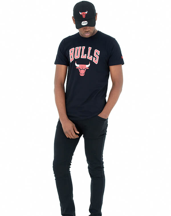 camiseta de los bulls new era