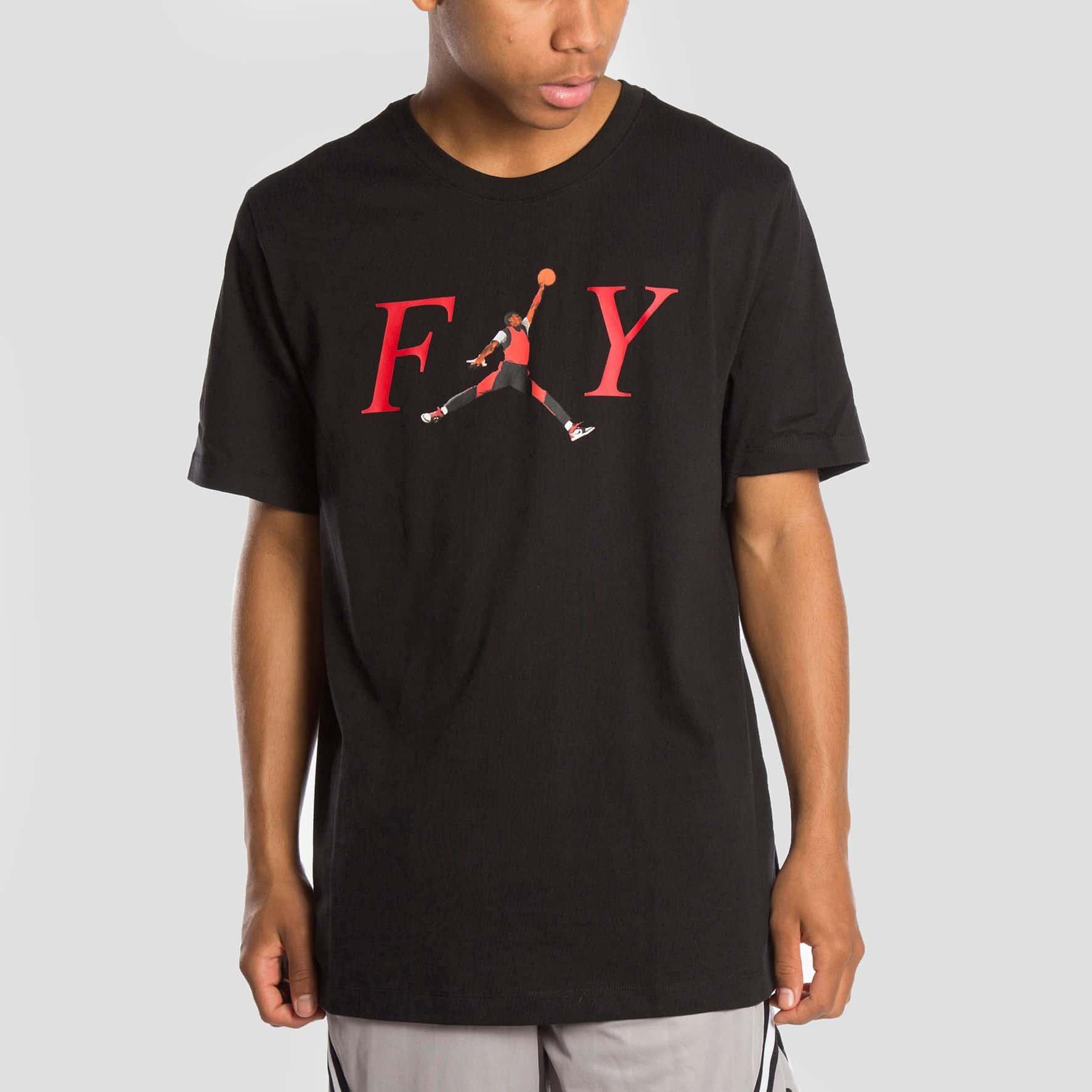 camiseta jordan fly