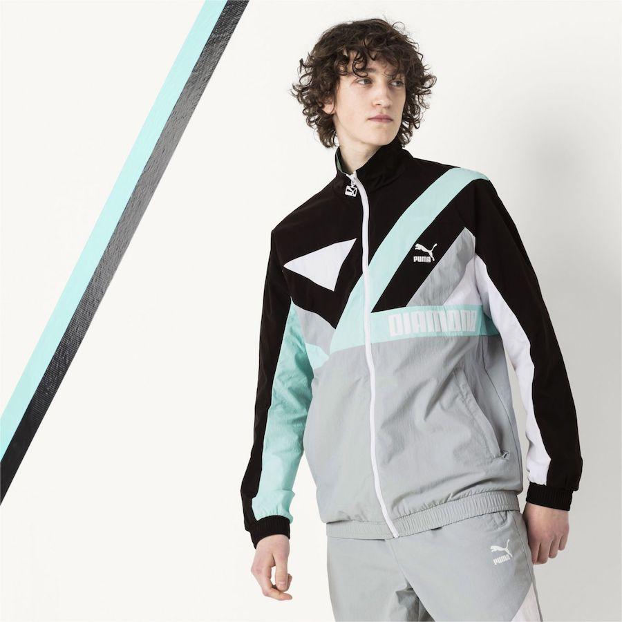chaqueta puma x Diamond supply