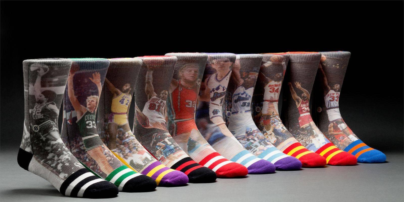 calcetines de baloncesto stance nba jugadores clásicos