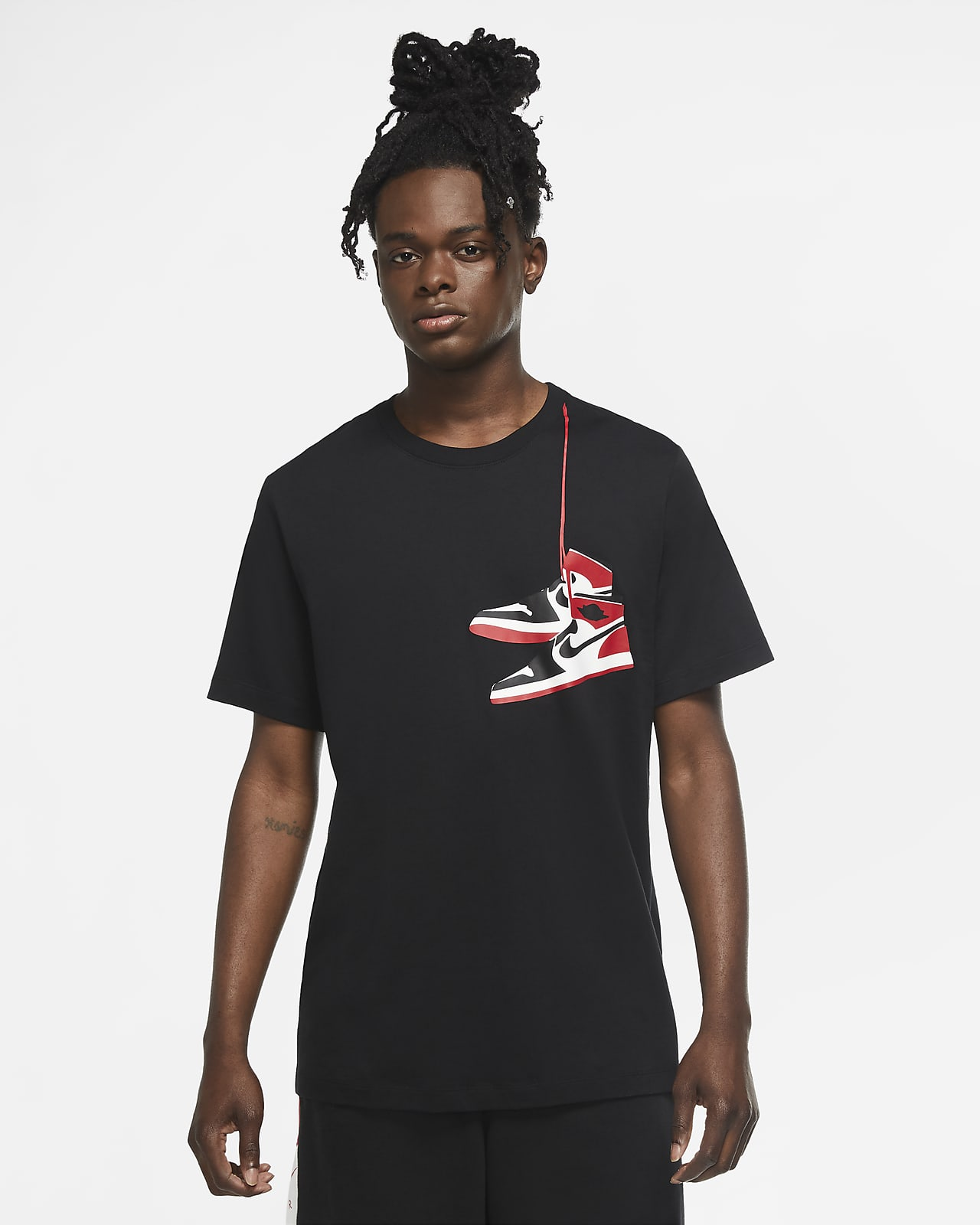 camiseta zapatillas air jordan 1