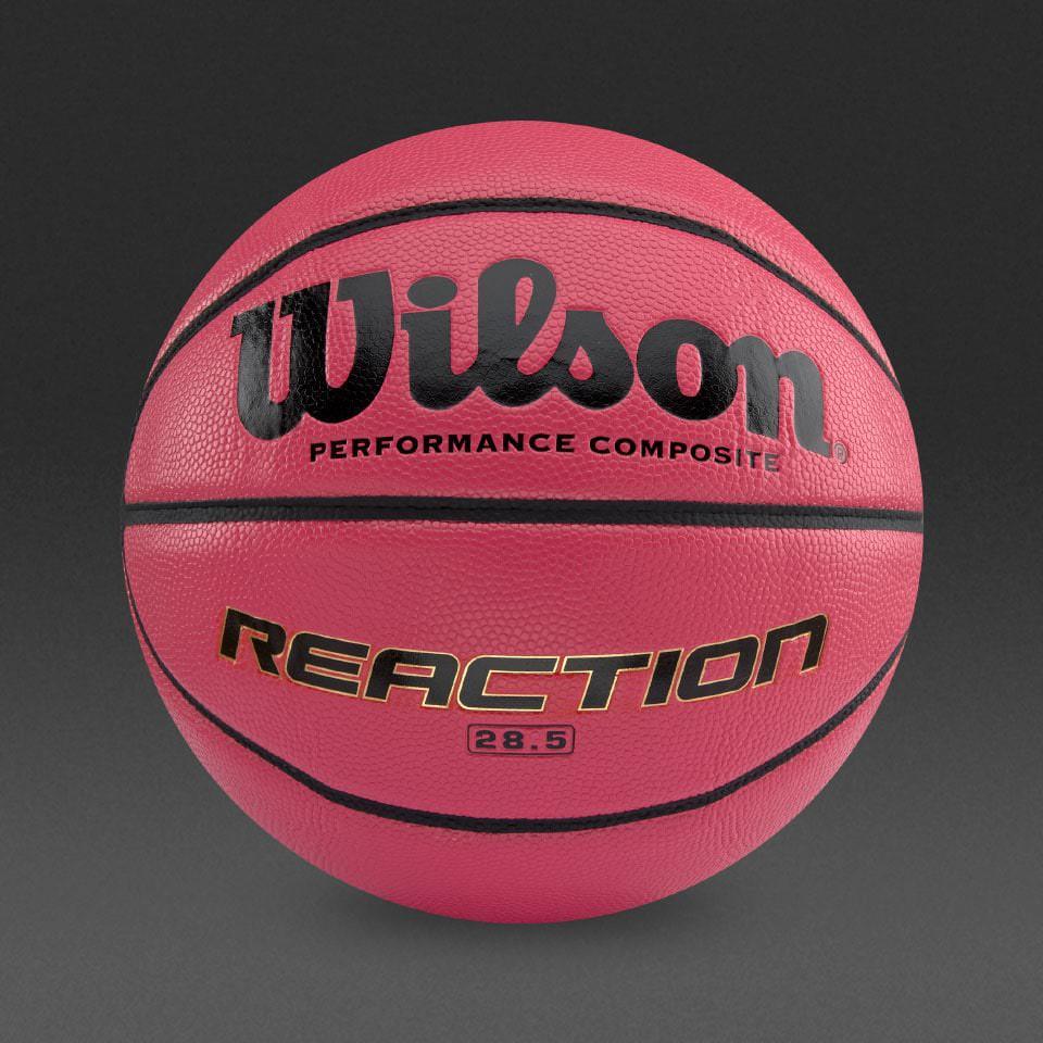 balón baloncesto wilson reaction pink