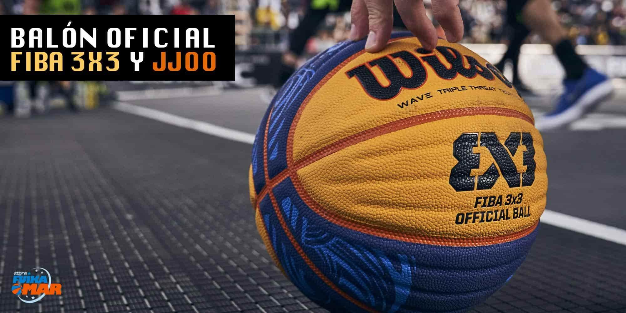 balon Wilson 3x3 Fiba oficial baloncesto