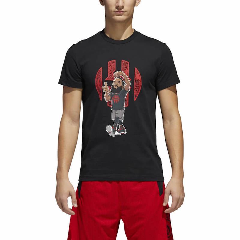 camiseta james harden de adidas