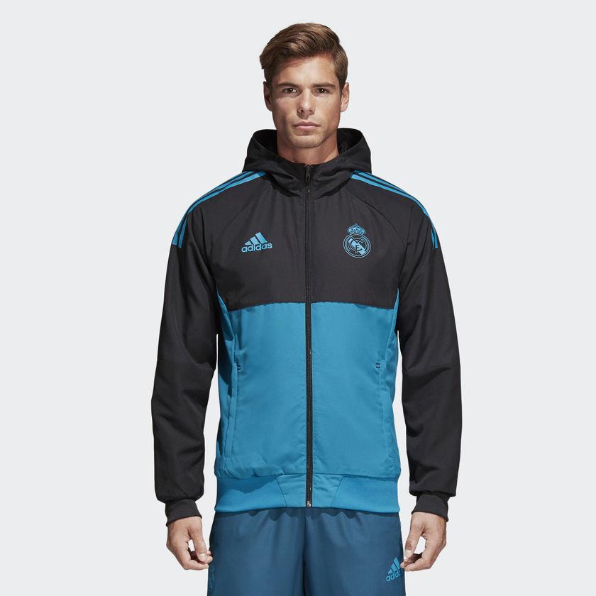 chaqueta real madrid de adidas
