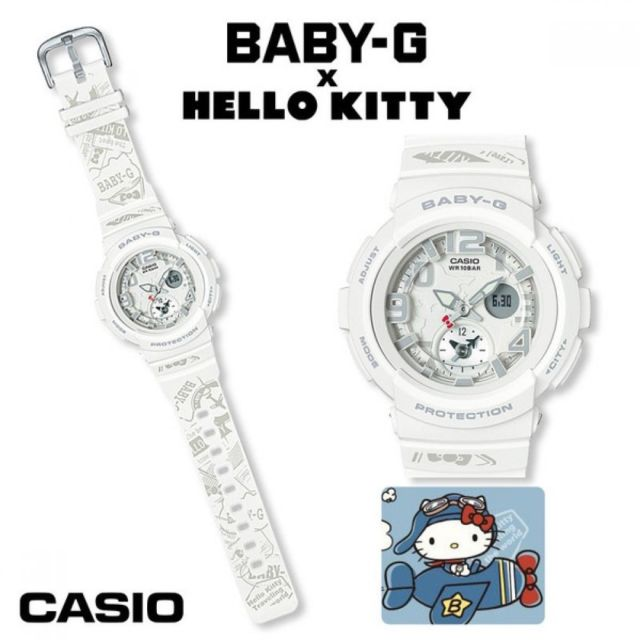 reloj casio g-shock kitty