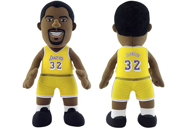 FIGURA DE MAGIC JOHNSON CON LAKERS