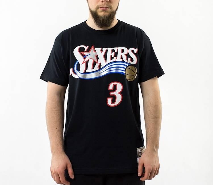 Camiseta Allen Iverson de los sixers