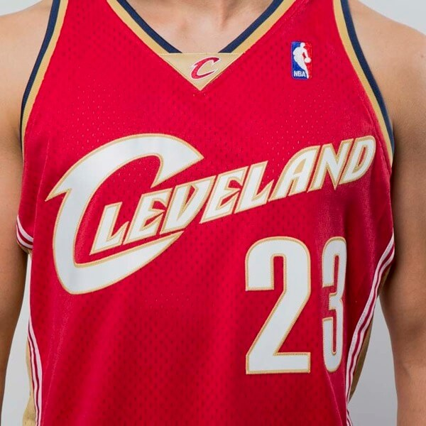 camiseta mitchell and ness lebron james