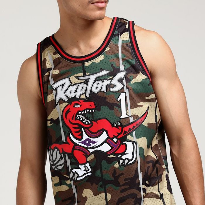 camiseta tracy mcgrady toronto raptors