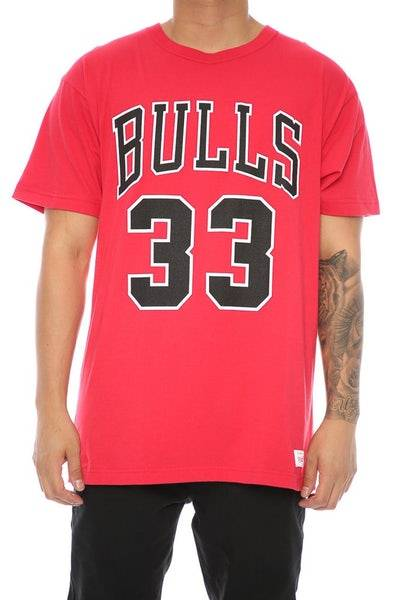 camiseta chicago bulls pippen
