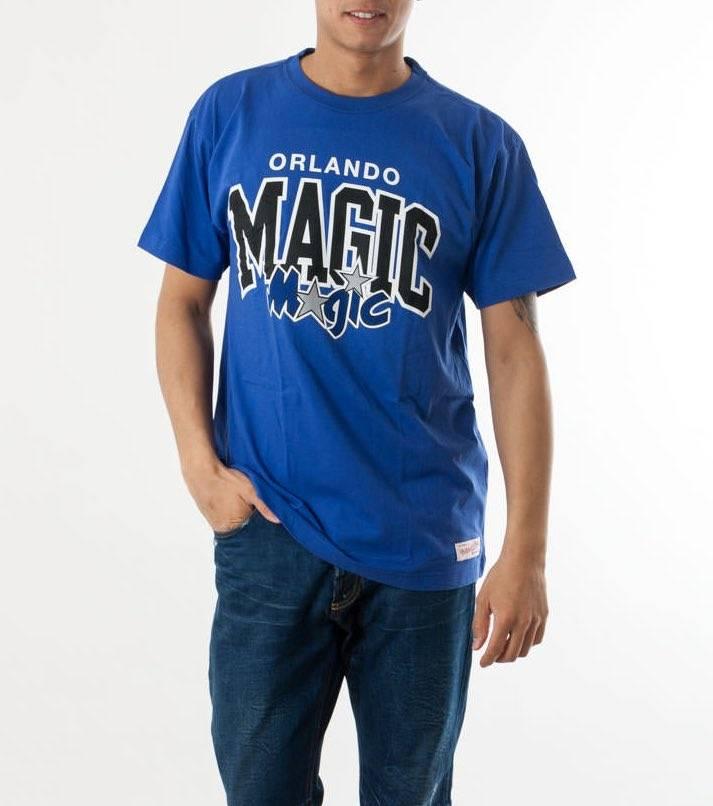 camiseta de mitchell and ness orlando magic