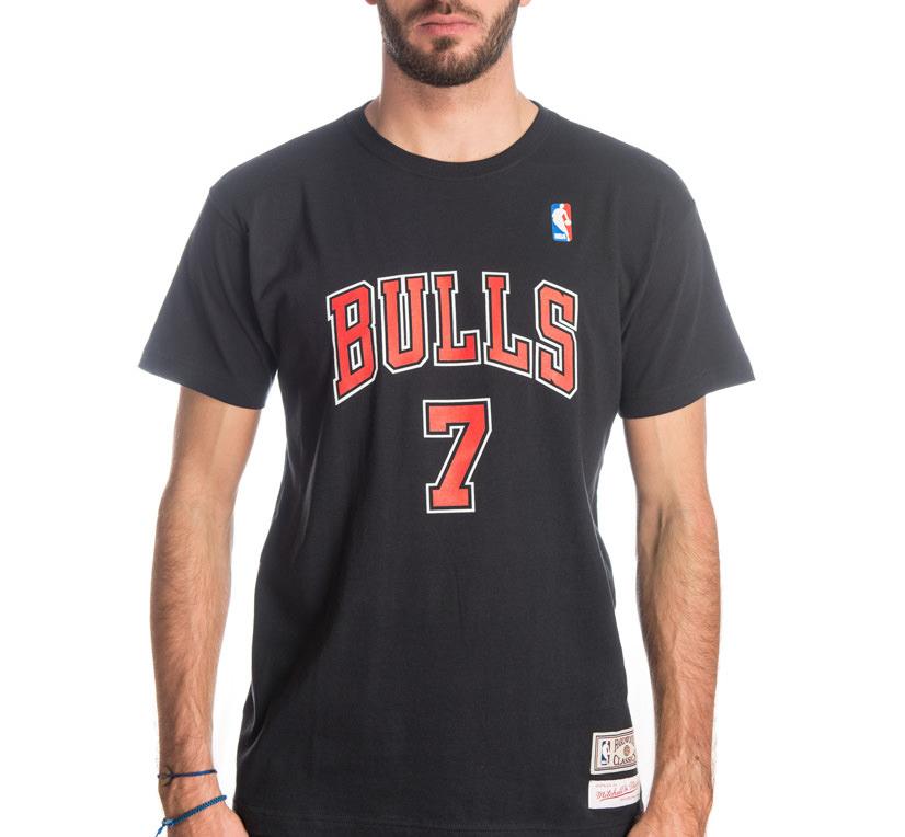 camiseta kukoc con chicago bulls