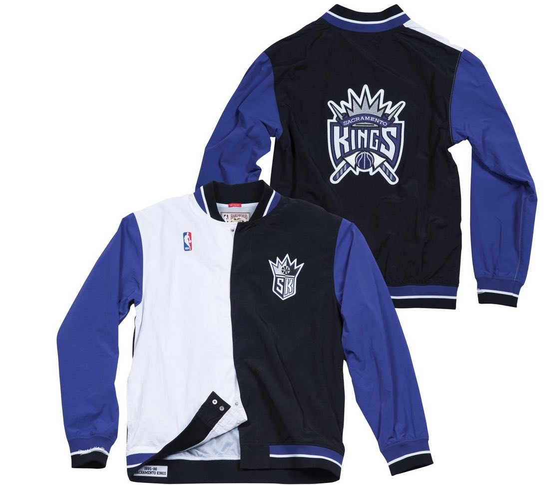 CHAQUETA MITCHELL AND NESS DE LOS KINGS
