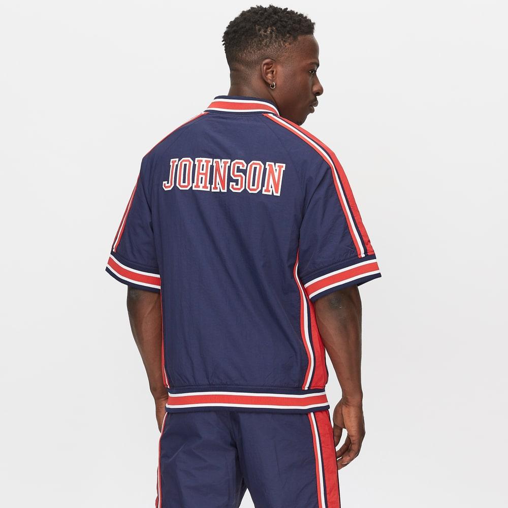 chaqueta mitchell & ness usa basketball de magic johnson