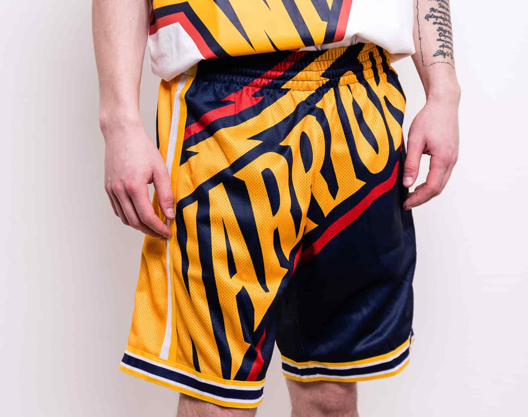 short warriors baloncesto