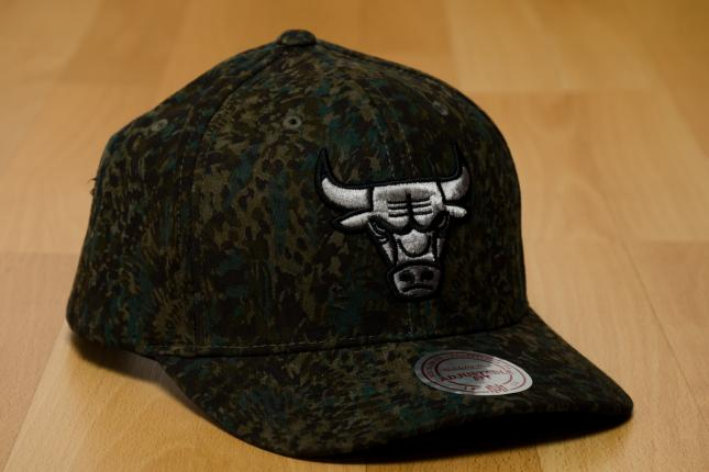 Gorra de los chicago bulls de mitchell and ness