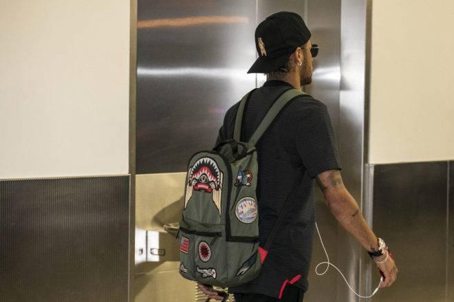La mochila spray ground de Neymar
