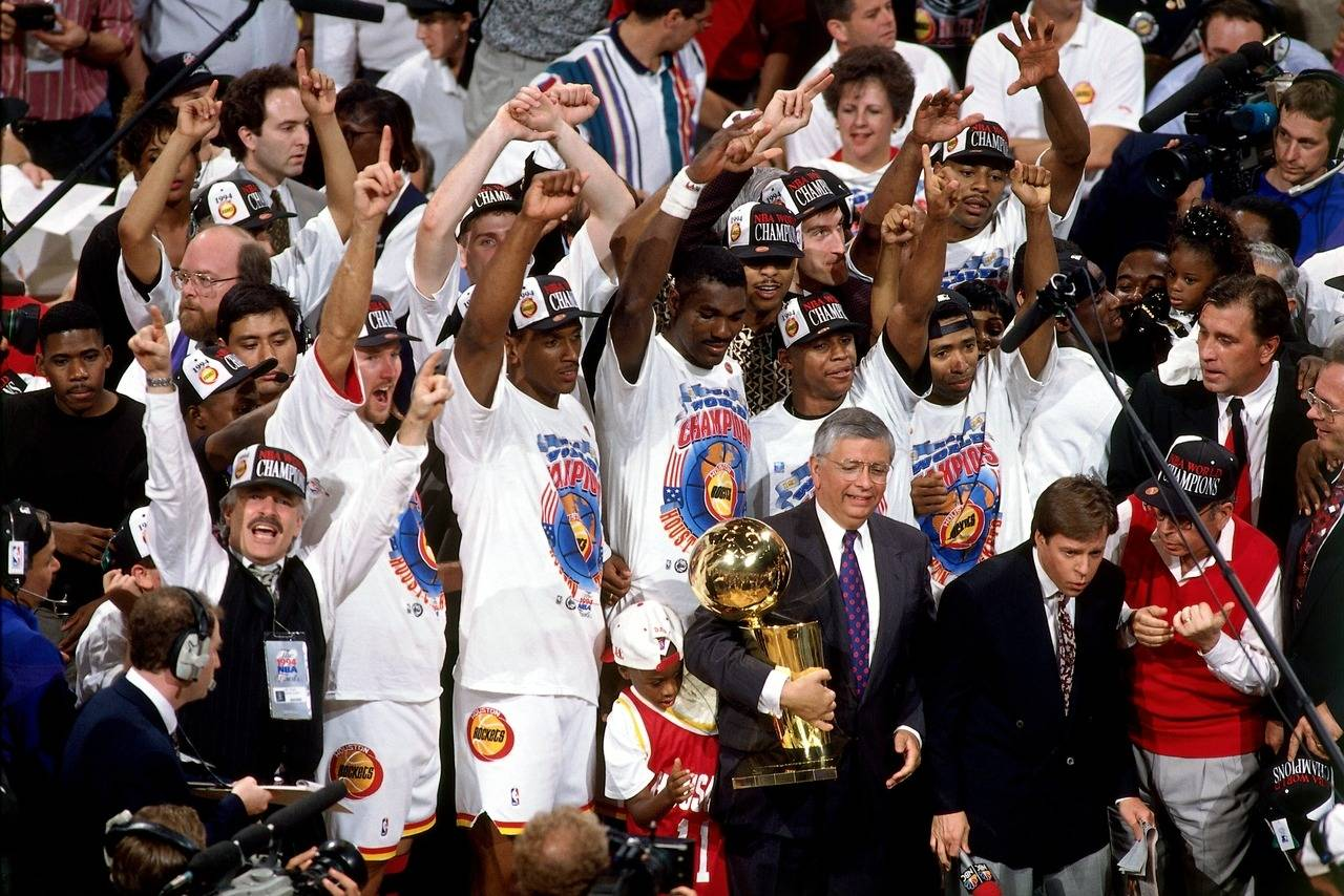 ROCKETS NBA CHAMPIONS