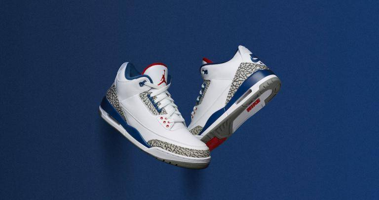 Zapatillas nike air jordan III OG True Blue