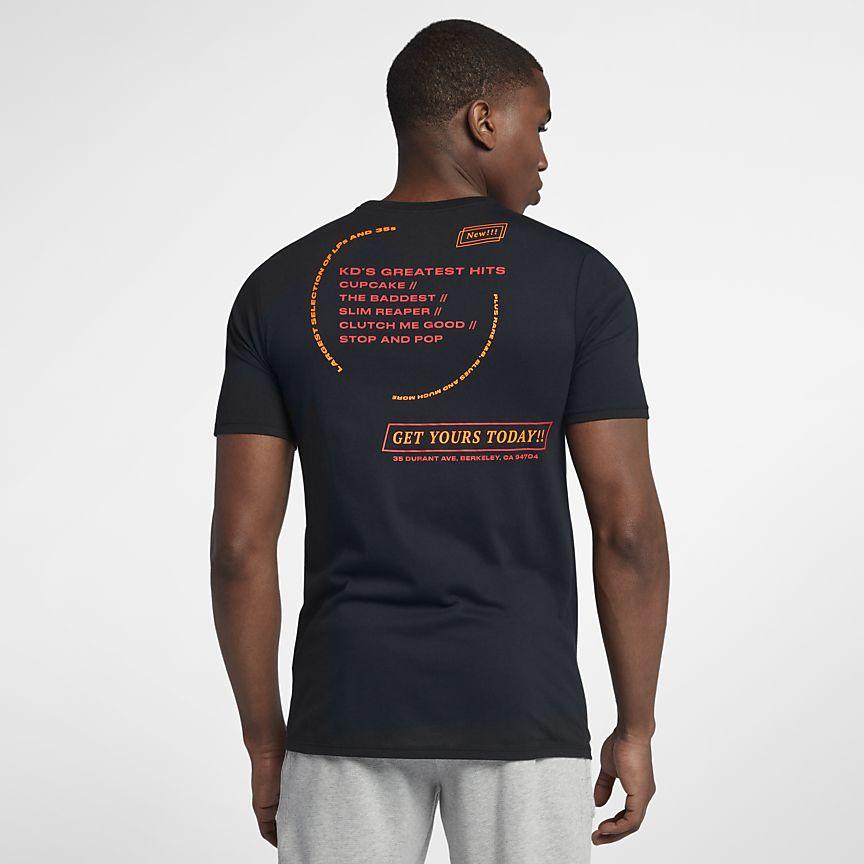 camiseta nike KD records