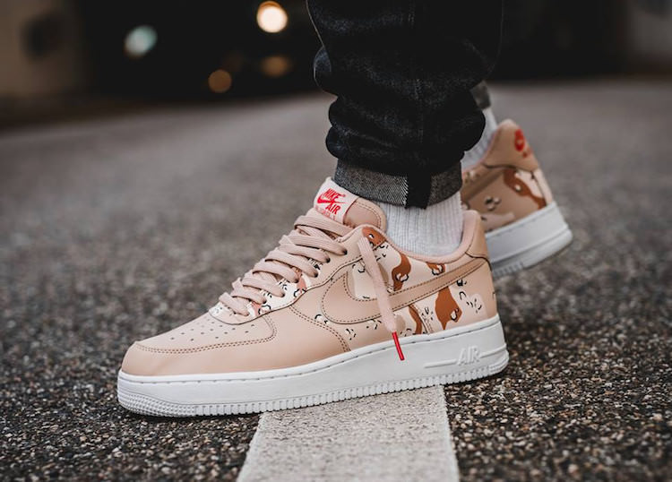 zapatillas nike air force one camo
