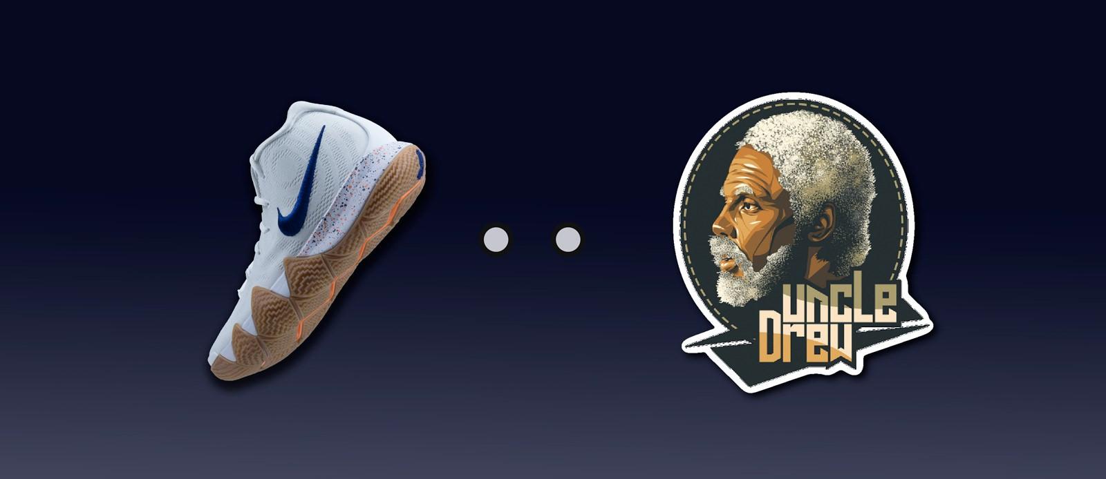 zapatillas Nike Kyrie 4 Uncle Drew